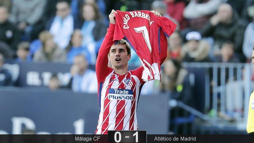 Gol y dedicatoria de Griezmann en una victoria con lo justo del Atlético