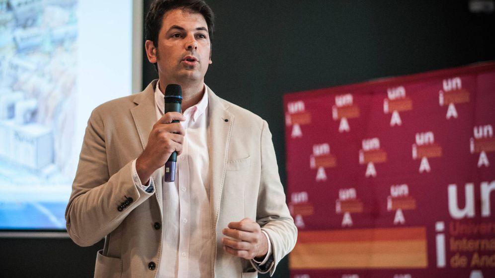 Foto: José María Olmo, periodista de investigación de El Confidencial. (Carmen Castellón)