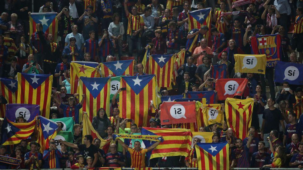 Foto: Girona y Barcelona se enfrentaron el 23 de septiembre en Girona en medio de un ambiente lleno de esteladas. (Reuters)