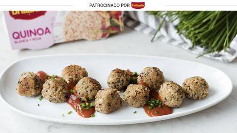 Albóndigas de quinoa y queso de cabra: un entrante crujiente que te sorprenderá