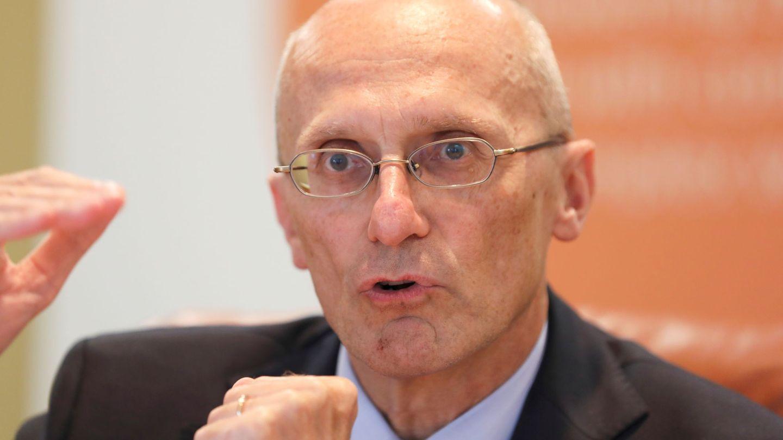 Andrea Enria, presidente del Mecanismo Único de Supervisión, del BCE. (Reuters)