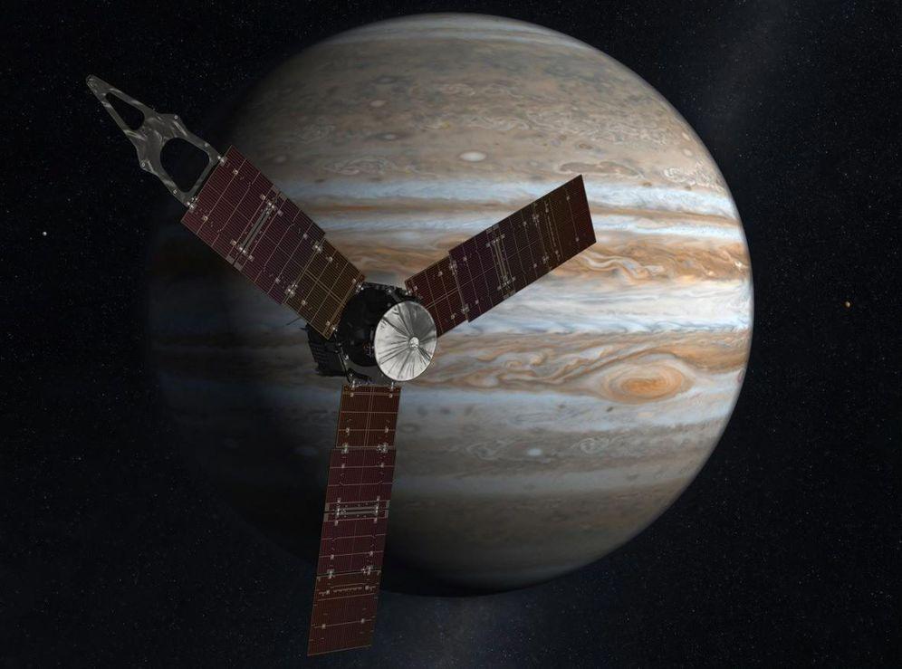 Foto: Juno llega a Júpiter. (Efe)