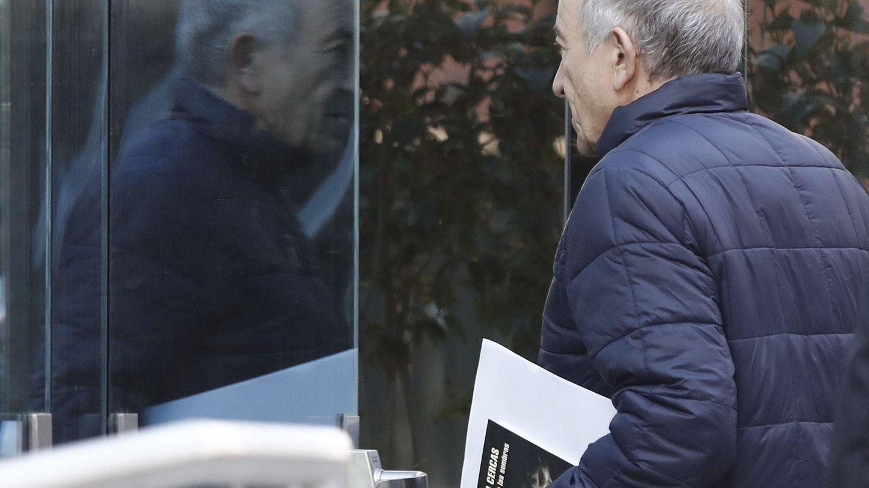 Miguel Ángel Fernández Ordóñez, exgobernador del Banco de España, en la Audiencia en 2017