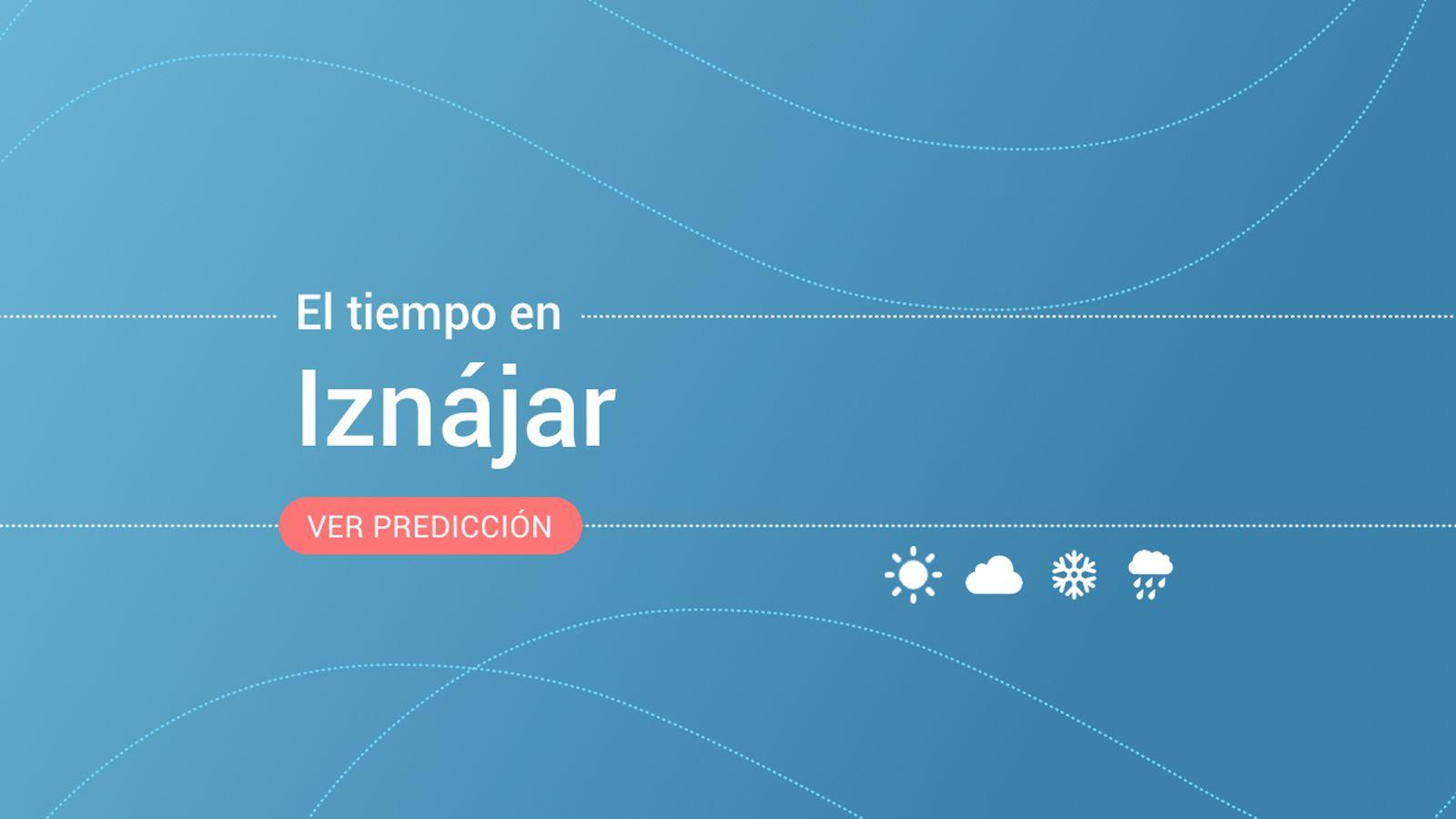 Foto: El tiempo en Iznájar. (EC)