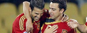 "Xavi: ""Lo hemos hecho fenomenal"""