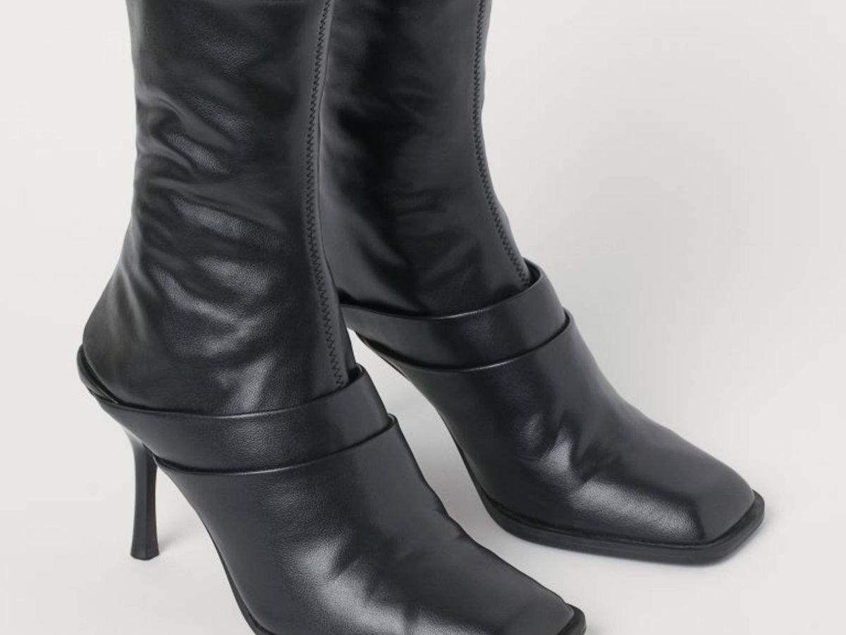 Foto: Las botas de HyM. (Cortesía)