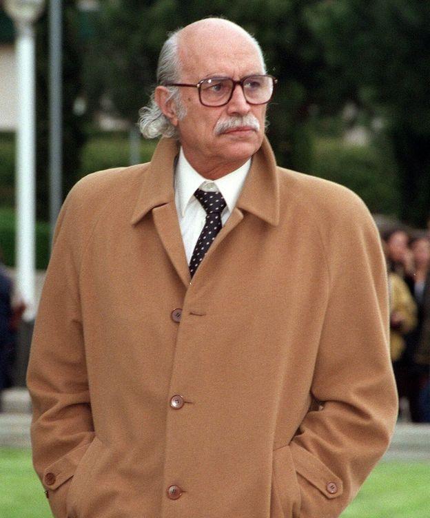 Foto: Fotografía tomada en julio de 1995 del jurista, abogado y pensador político granadino Antonio García-Trevijano.