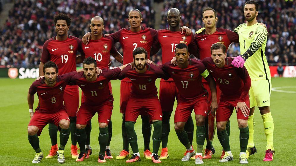 Foto: Un once de Portugal (Dylan Martinez/Reuters).