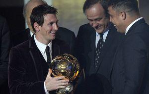 Messi, CR7, Neymar, Bale, Xavi e Iniesta buscan el Balón de Oro