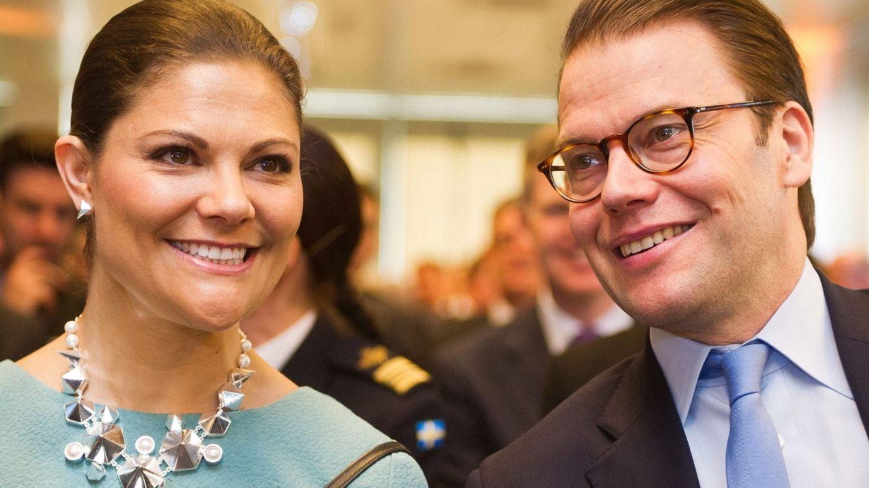Foto: La princesa Victoria y el príncipe Daniel en una imagen de archivo (EFE)