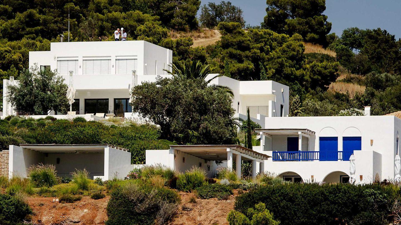 La casa de los reyes holandeses en Grecia. (EFE)