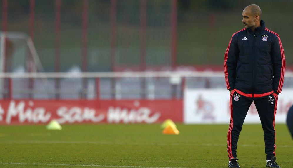 Foto: Guardiola está en su tercera temporada en Múnich (Michaela Rehle/Reuters)