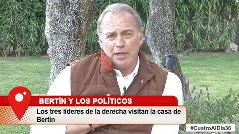 El recado de Bertín a Pedro Sánchez y Pablo Iglesias tras no acudir a su casa