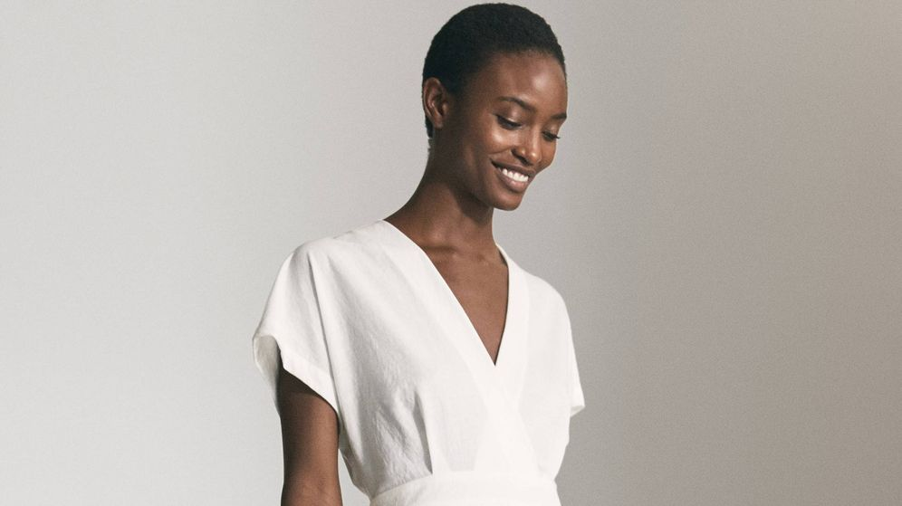 Foto: El vestido de Massimo Dutti que reinará en tu armario durante los próximos meses. (Cortesía)