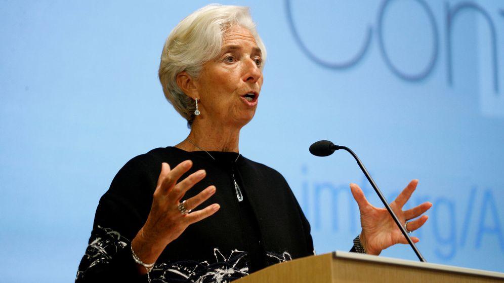 Foto: La directora gerente del Fondo Monetario Internacional, Christine Lagarde. (Reuters)