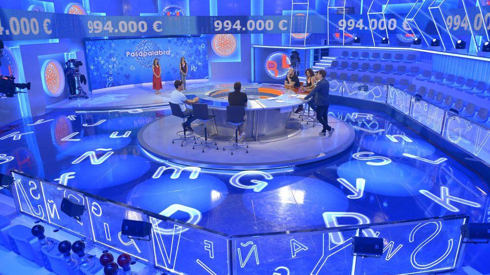 Foto: Vista general del plató de 'Pasapalabra'. (Mediaset)