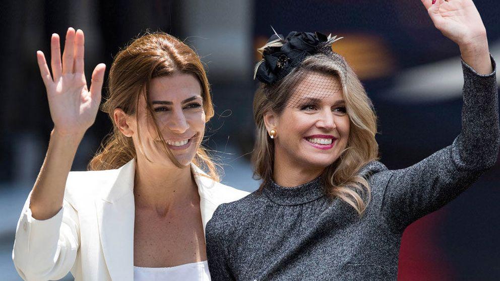 Máxima de Holanda y Juliana Awada, duelo de argentinas en Davos