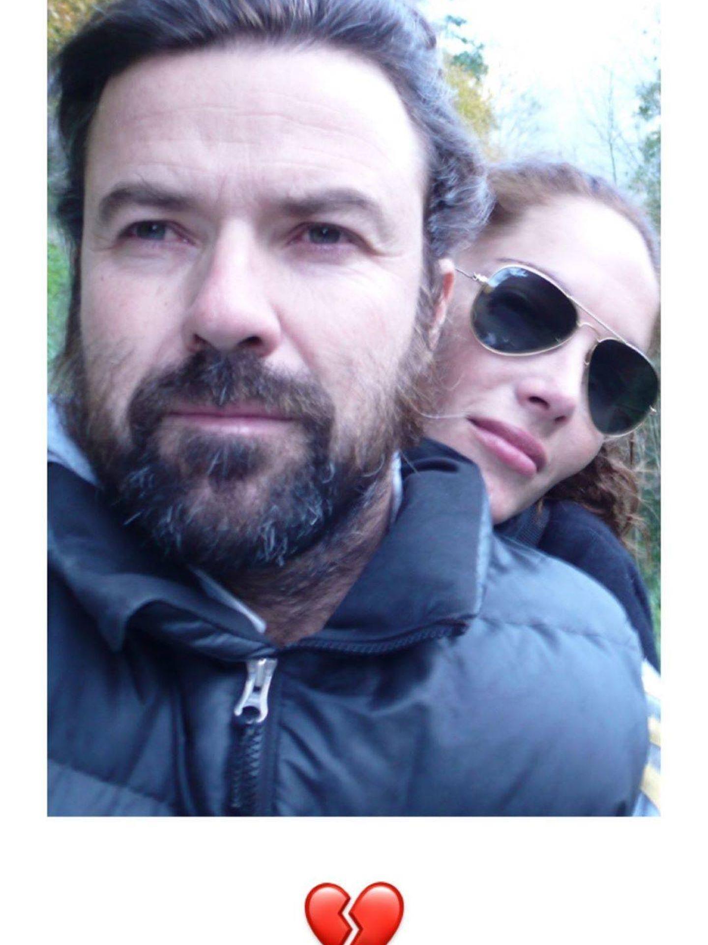 Pau Donés y Eugenia Silva. (Instagram)