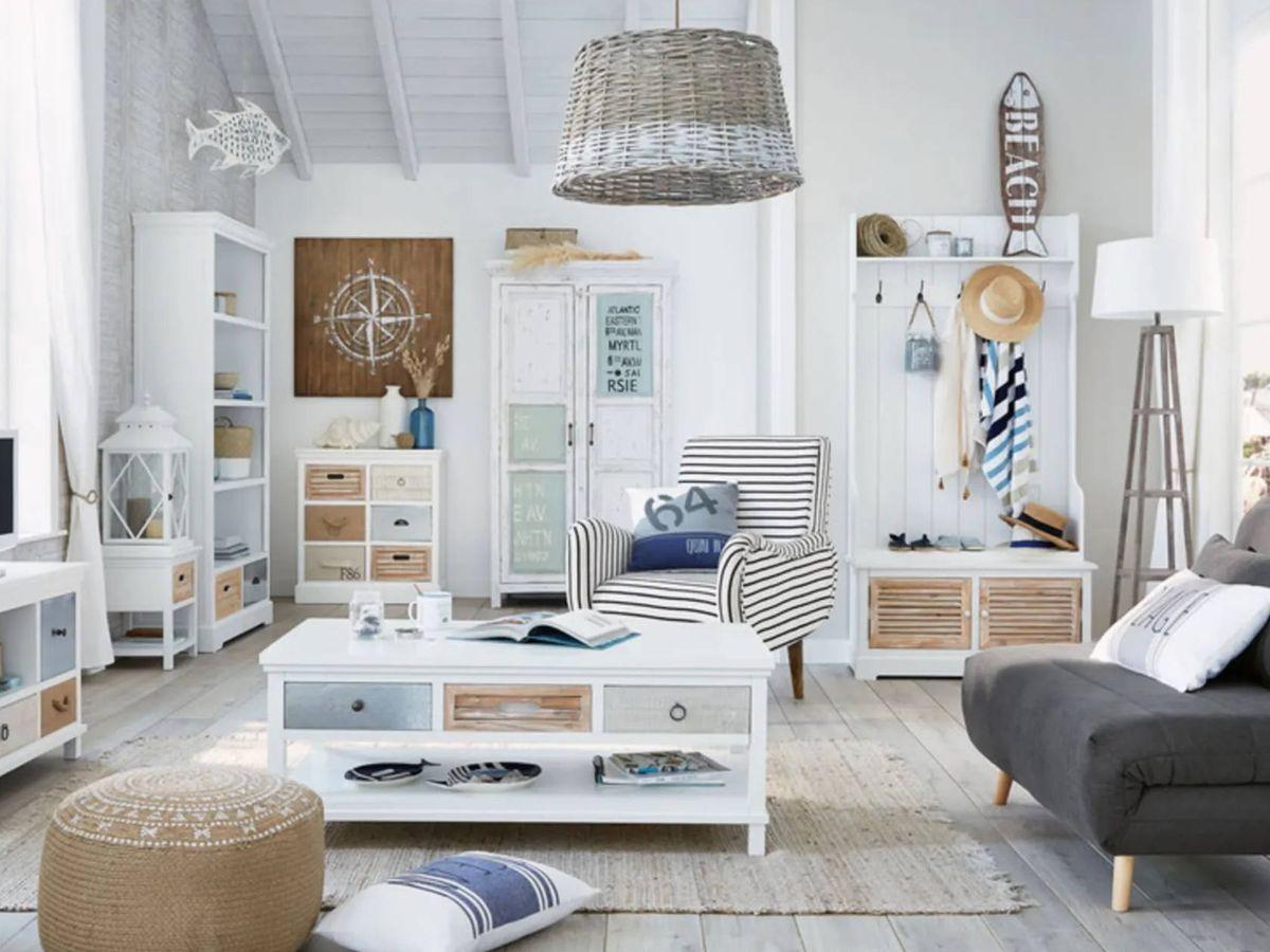 Foto: El sofá perfecto para un salón pequeño está en Maisons du Monde. (Cortesía)