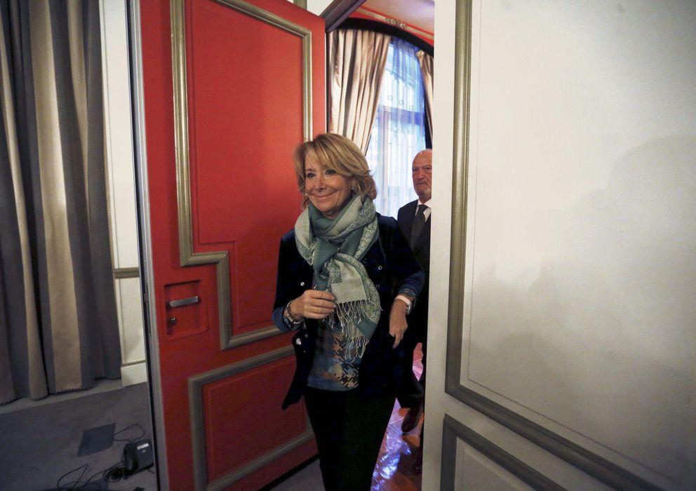 Foto: Esperanza Aguirre, presidenta del PP de Madrid. (Efe)