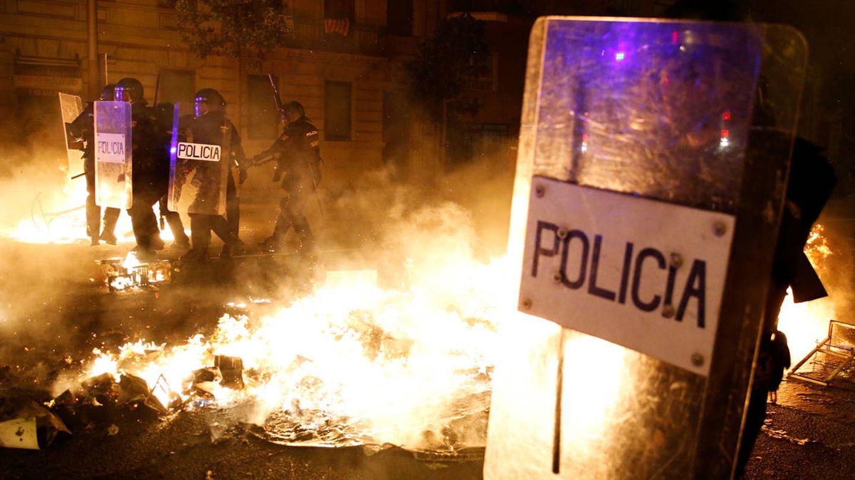 Disturbios y cargas en Barcelona. (Pinche para ver el álbum)