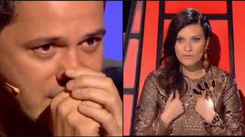 'La Voz' cierra sus equipos con el culo sexy de Pausini y un emocionado Sanz