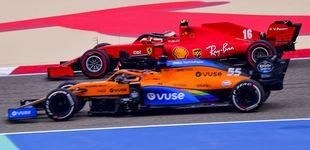 Post de Carlos Sainz se cuela en el top cinco mientras Hamilton y Mercedes arrasan en Baréin