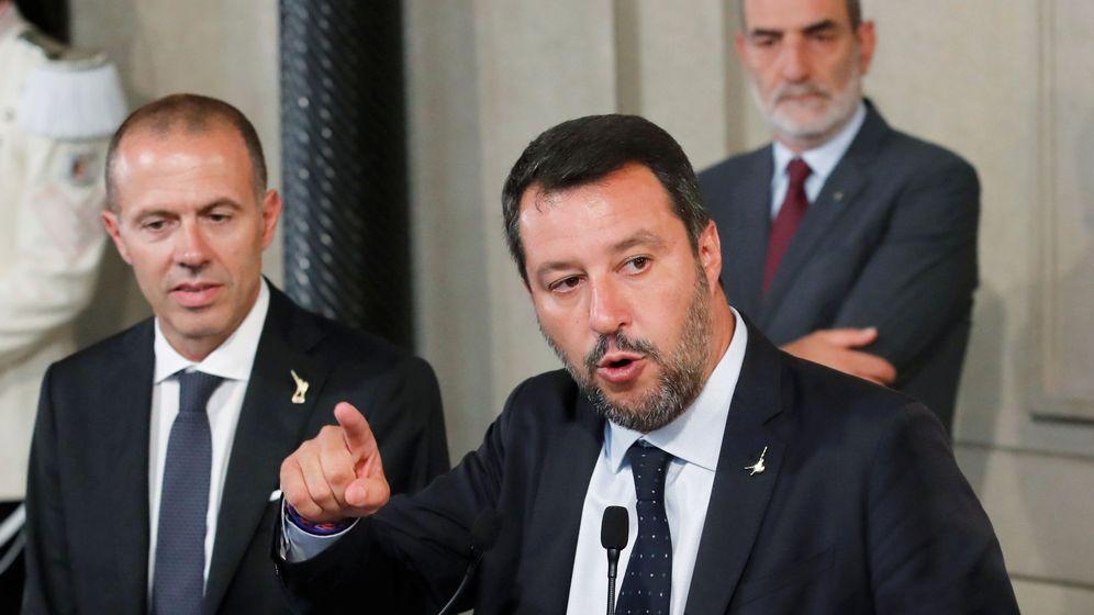 Foto: Matteo Salvini, líder de la ultraderechista Liga. (Reuters)