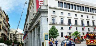 """Post de Más humo que llamas en el """"incendio"""" del Teatro Real"""