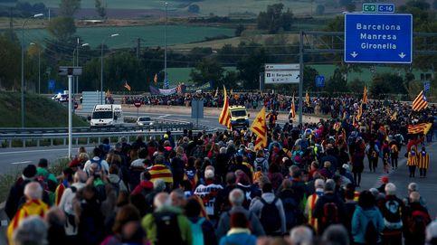 Las protestas por la sentencia del 'procés' colapsan varias carreteras catalanas