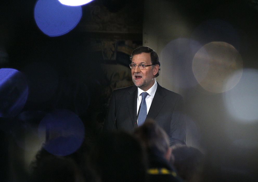 Foto: Mariano Rajoy, en el balance político y económico que hizo el pasado viernes. (Efe)