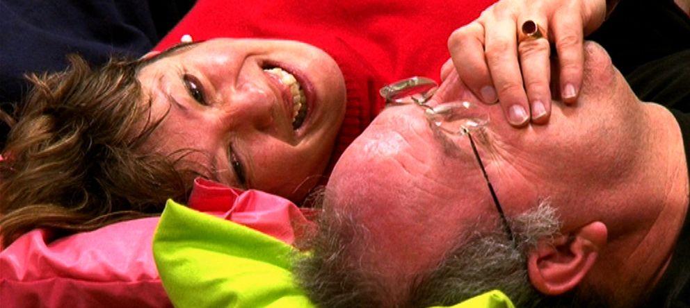Foto: La risoterapia nos permite olvidarnos de nuestros problemas y descargar la tensión acumulada. (Fotografía y vídeo: El Confidencial.lab)