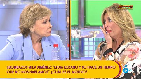 Lydia Lozano y Mila Ximénez, llorando y a la gresca en 'Sálvame': ¡Vaya mierda de vida!