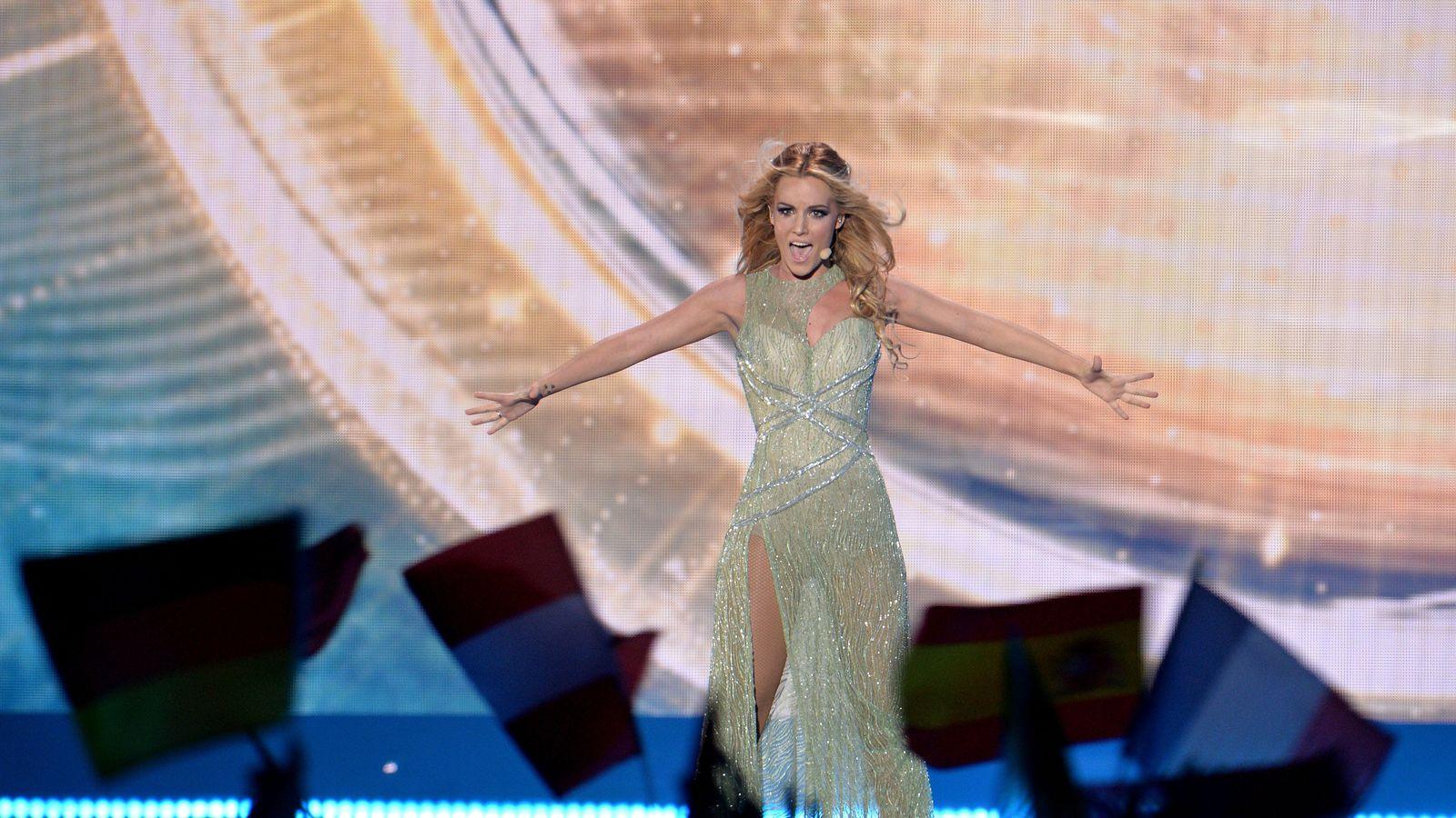 Foto: Edurne fue la representante española del festival de Eurovisión 2015. (Gtres)