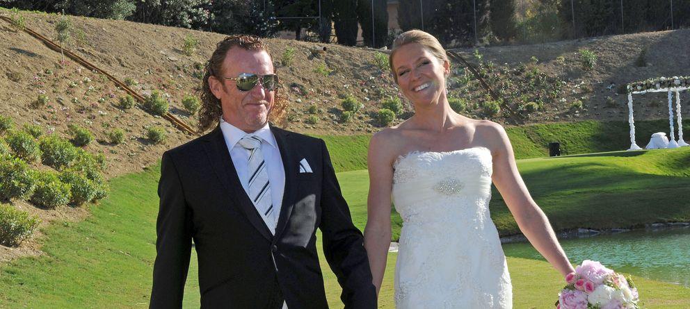 Foto: Tercera boda de Miguel Ángel Jiménez