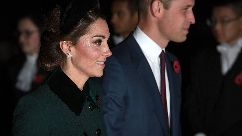 Kate Middleton brilla entre los 'fab four' en la conmemoración del Armisticio