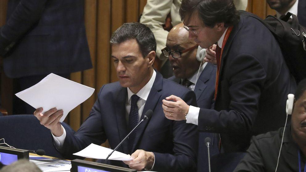 Sánchez avala a Delgado: No nos va a marcar la agenda un corrupto
