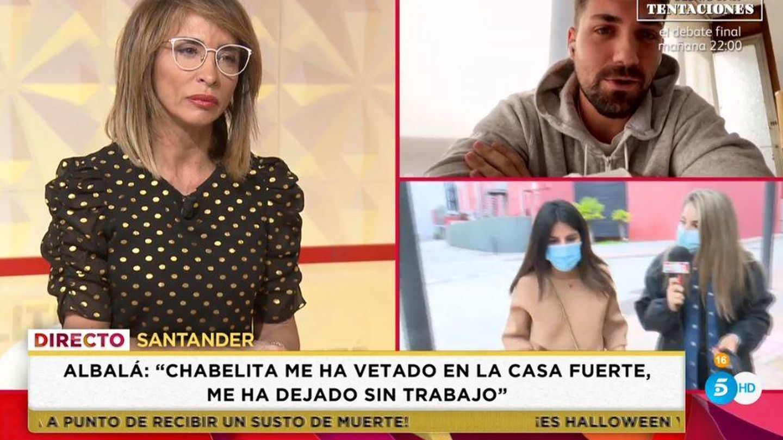 Alejandro Albalá, en 'Socialité'. (Mediaset España)
