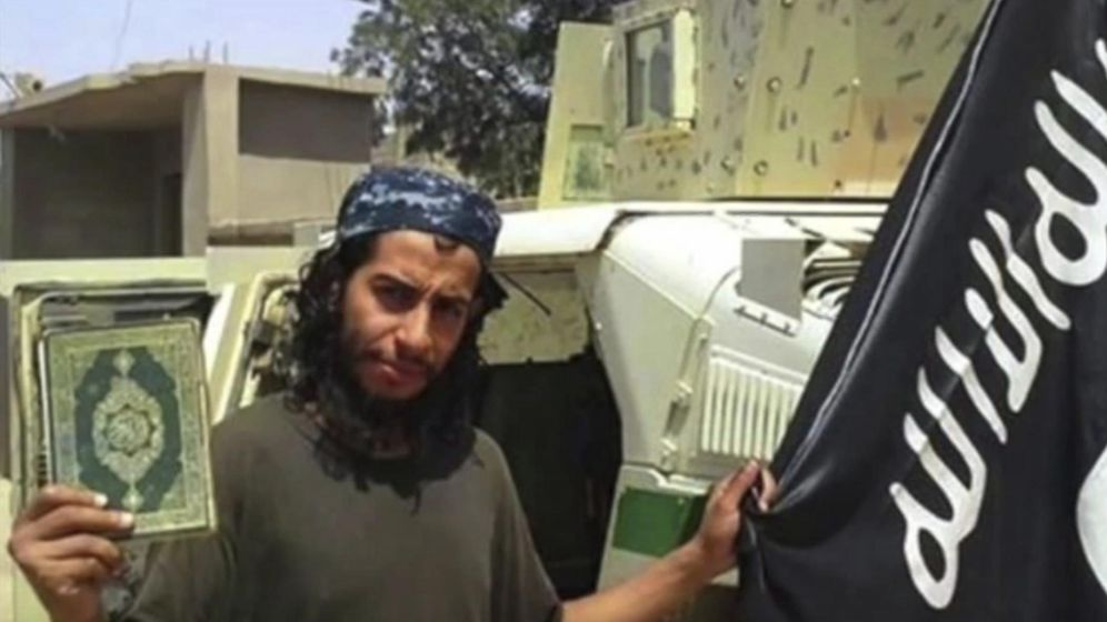 Foto: Abdlhamid Abaudm, supuesto cerebro de los atentados de París