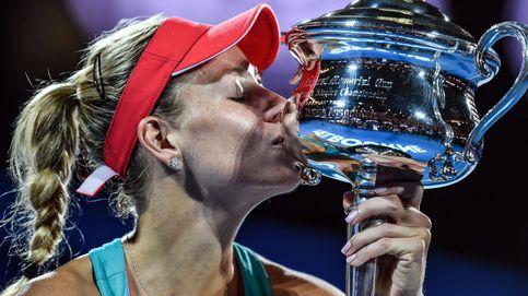 Kerber, la nueva reina del tenis que surgió de la nada 'copiando' a Nadal