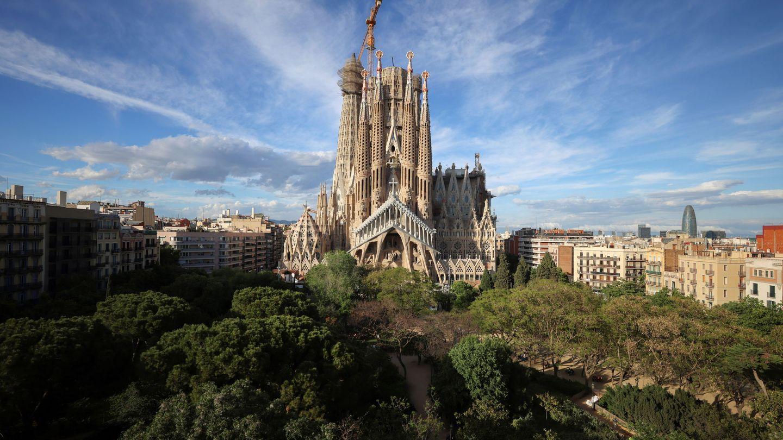 La Sagrada Familia de Barcelona. (EFE)
