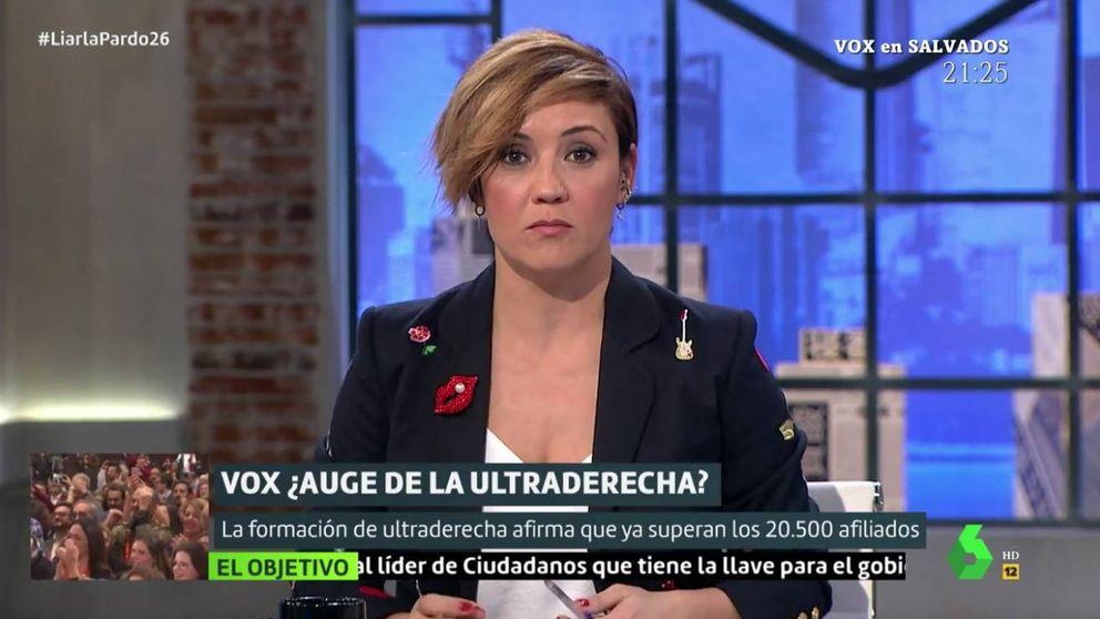 Cristina Pardo se disculpa por ir a la caza de los votantes de Vox en Marinaleda