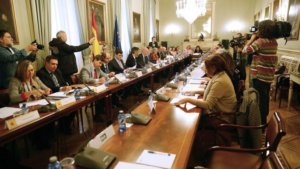 Foto: Reunión de la mesa General de la Administración General del Estado. (EFE)
