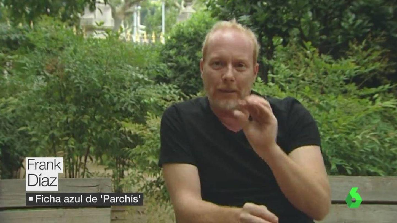 Frank Díaz, la ficha azul de Parchís. (Atresmedia)