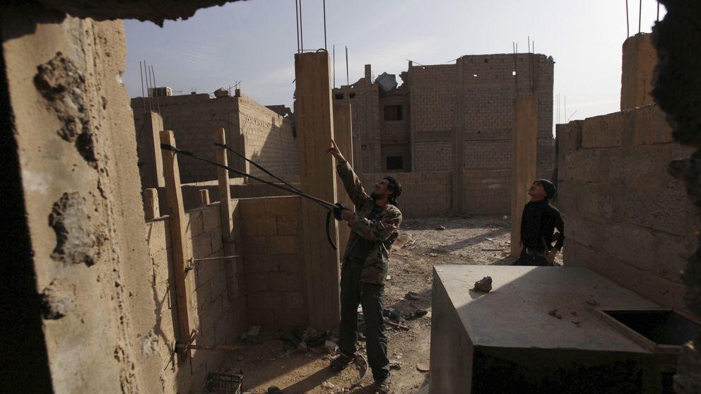 Humor negro en las trincheras de Siria