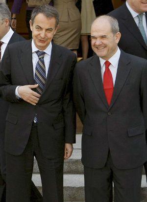 Zapatero ofreció a Chaves la vicepresidencia tercera el 11 de marzo