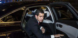 Post de Guaidó, recibido por Macron en París: