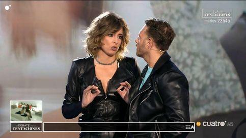 Sandra Barneda amonesta al hermano de Gonzalo en 'El debate de las tentaciones'
