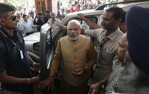 La bolsa india pulveriza su récord animada por la victoria de Modi
