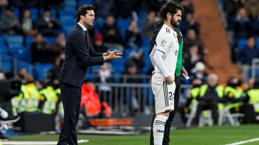 Claves del ostracismo de Isco en el Real Madrid (y su última polémica con Solari)